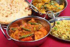 Curry-Nacht Stockfotos