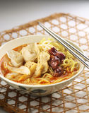 Curry noodle Stock Photo