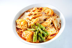 Curry noodle Royalty Free Stock Photos