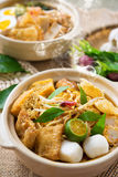 Curry Noodles Stock Image