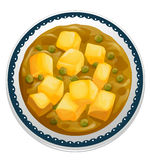 Curry paneer Royalty Free Stock Photography