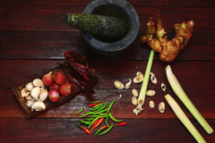 Curry paste Stock Images