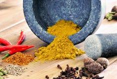 Curry pikantność Zdjęcia Stock