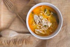 Curry pork with bamboo shoots, Thai food Stock Photos