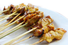 Curry Pork grill Royalty Free Stock Images