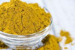 Curry Powder (in a bowl) Stock Photo