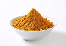 Curry powder Royalty Free Stock Photo
