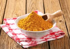 Curry powder Stock Image