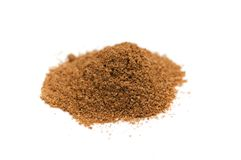 Curry powder isolated Royalty Free Stock Photo