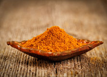 Curry powder Stock Photo