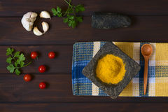 Curry Powder Spice Royalty Free Stock Images