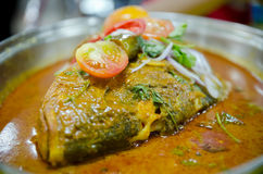 Curry principal de los pescados Imagen de archivo