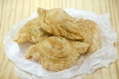 Curry Puff Chicken Stock Photos