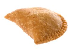 Curry Puff Isolated Stock Image
