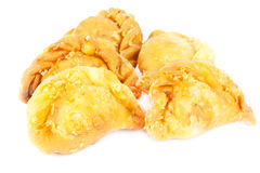 Curry Puff with Isolated  white background Royalty Free Stock Image