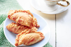 Curry puff Royalty Free Stock Image