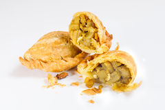 Curry Puff pastry, delicious Stock Photography