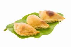 Curry puff pastry Stock Photography