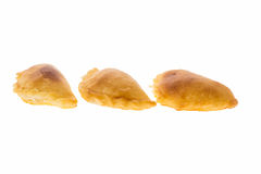 Curry puff pastry Royalty Free Stock Images