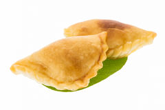 Curry puff pastry Stock Photo