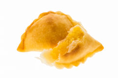 Curry puff pastry Royalty Free Stock Photo
