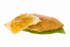 Curry puff pastry Royalty Free Stock Image