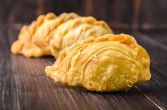 Curry puff pastry Royalty Free Stock Photography