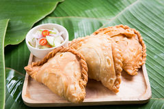 curry puff stuffed chicken Stock Image