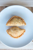 Curry puff. Is very popular in Thailand Stock Photography