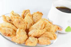 Curry Puffs Stock Photography