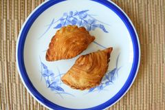 Curry puffs Stock Photos
