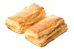 Curry Puffs Isolated Royalty Free Stock Photography