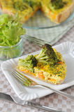 Curry Quiche Royalty Free Stock Photography