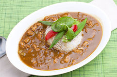 Curry and rice Stock Photos