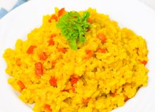 Curry rice Stock Images