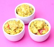 Curry rice with chicken Royalty Free Stock Photo