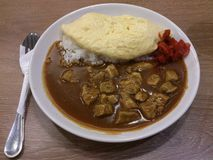 Japanese Curry Rice Stock Image