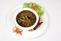 Curry Rogan Josh or Bhuna Gosht Royalty Free Stock Photo