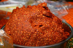 Curry rojo Imagenes de archivo