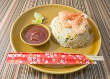 Curry rojo delicioso con leche del cerdo y de coco Imagen de archivo
