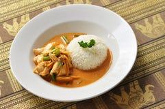 Curry rojo tailandés Fotos de archivo