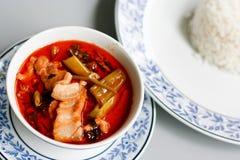 Curry rosso Fotografia Stock Libera da Diritti