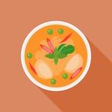 Curry rosso Immagini Stock