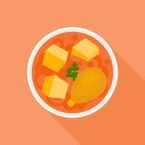 Curry rosso Immagine Stock Libera da Diritti