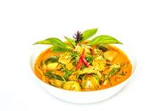 Curry rosso pronto per il servire Immagine Stock
