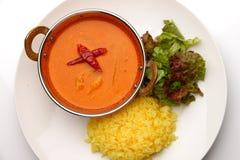 Curry rosso tailandese Immagini Stock