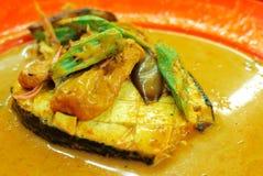 Curry rybia kierownicza delikatność Zdjęcie Royalty Free