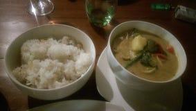 Curry sabroso Fotografía de archivo