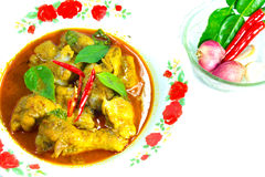Curry Sauces Chicken Royalty Free Stock Images