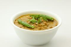 Curry- sosu jedzenie zdjęcie stock